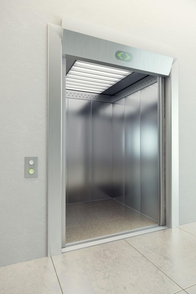 Kestävät ratkaisut myös julkisten tilojen hisseihin.